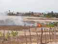 Cercas de nativos sendo queimadas pelo ICMBIo
