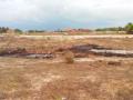 Um dia depois das queimadas das cercas dos nativos, observa-se que, perto de onde foi queimado, existem várias casas de nativos